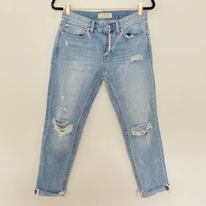 We The Free 25 Distressed Rolled Cuff Jeans